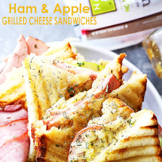 Ham and Apple Grilled Cheese Sandwiches