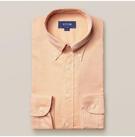 ETON Orange royal oxford skjorta slim