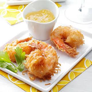 Quick Coconut Shrimp.