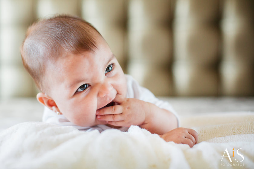 Reportaje de bebe de Paula