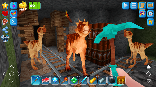 RaptorCraft 3D: Survival Craft u25ba Dangerous Worlds 5.0.4 screenshots 6