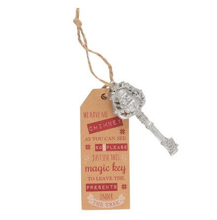 Tomtens magiska nyckel - silver