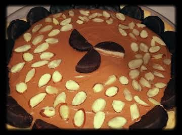 """ It's Mint To Be"" Chocolate Cream Pie"