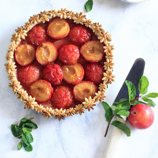 Plum Pie for Pi Day Recipe