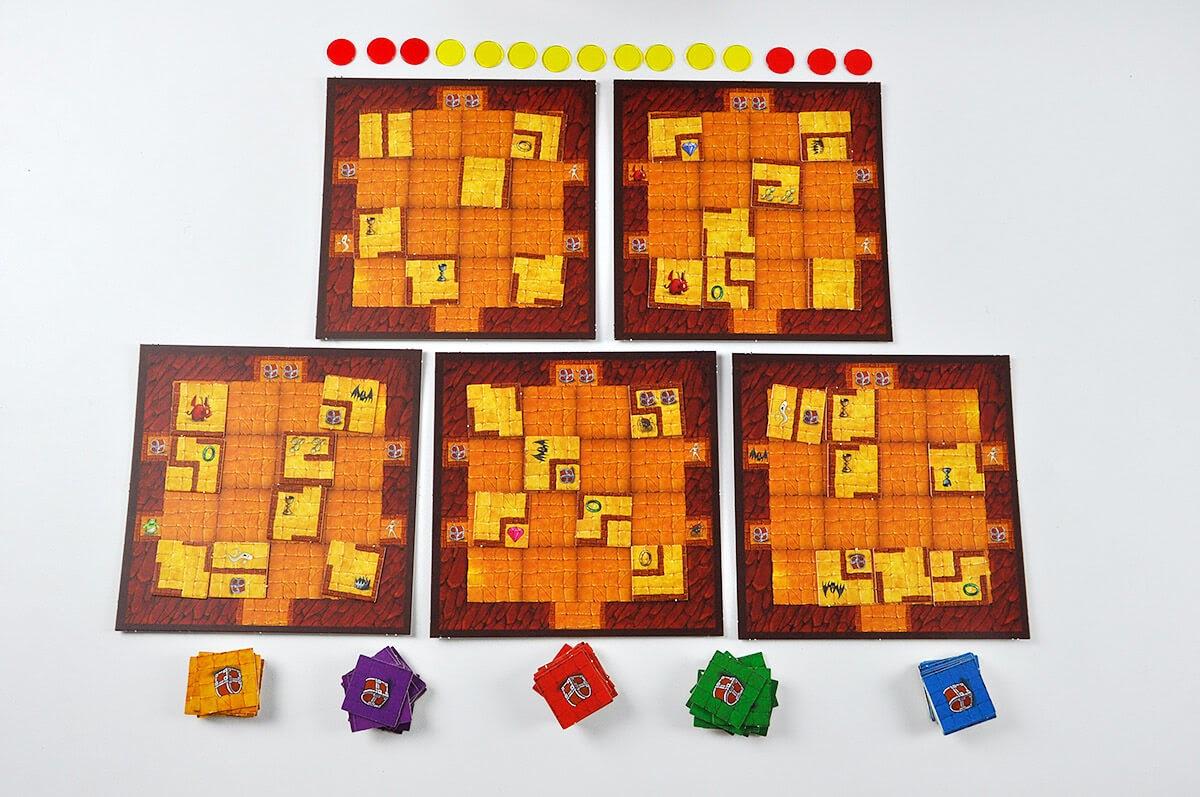 Tajemnicze Podziemia - elementy gry