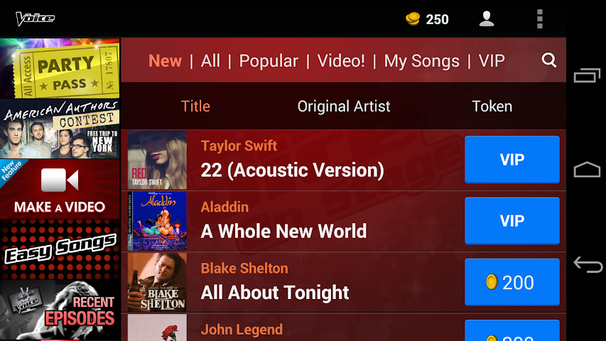android The Voice: On Stage Screenshot 9