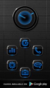 NEON BLUE Smart Launcher Theme 2.30 2