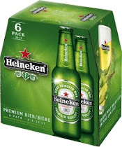 Heineken Lager Beer - 330ml, 6pk