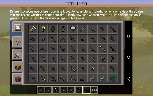 Gun Mod: Guns in Minecraft PE 2.5 screenshots 3