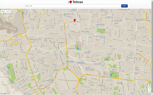 Tehran Map Apps on Google Play