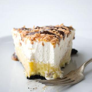 Samoa Coconut Cream Pie