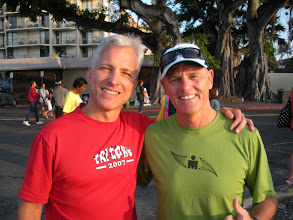 "Photo: The ""Voice of Ironman"" Mike Reilly...and a great guy!"