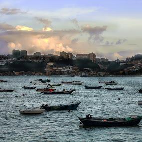 Barcos no Douro by Mário Rua - City,  Street & Park  Vistas ( boats, douro )