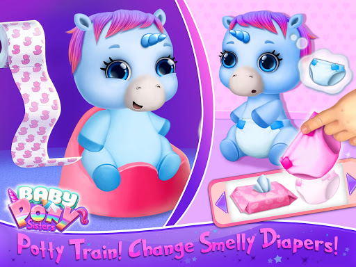 Baby Pony Sisters - Virtual Pet Care & Horse Nanny 5.0.14002 screenshots 11