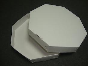 Photo: Caixa para pizza.