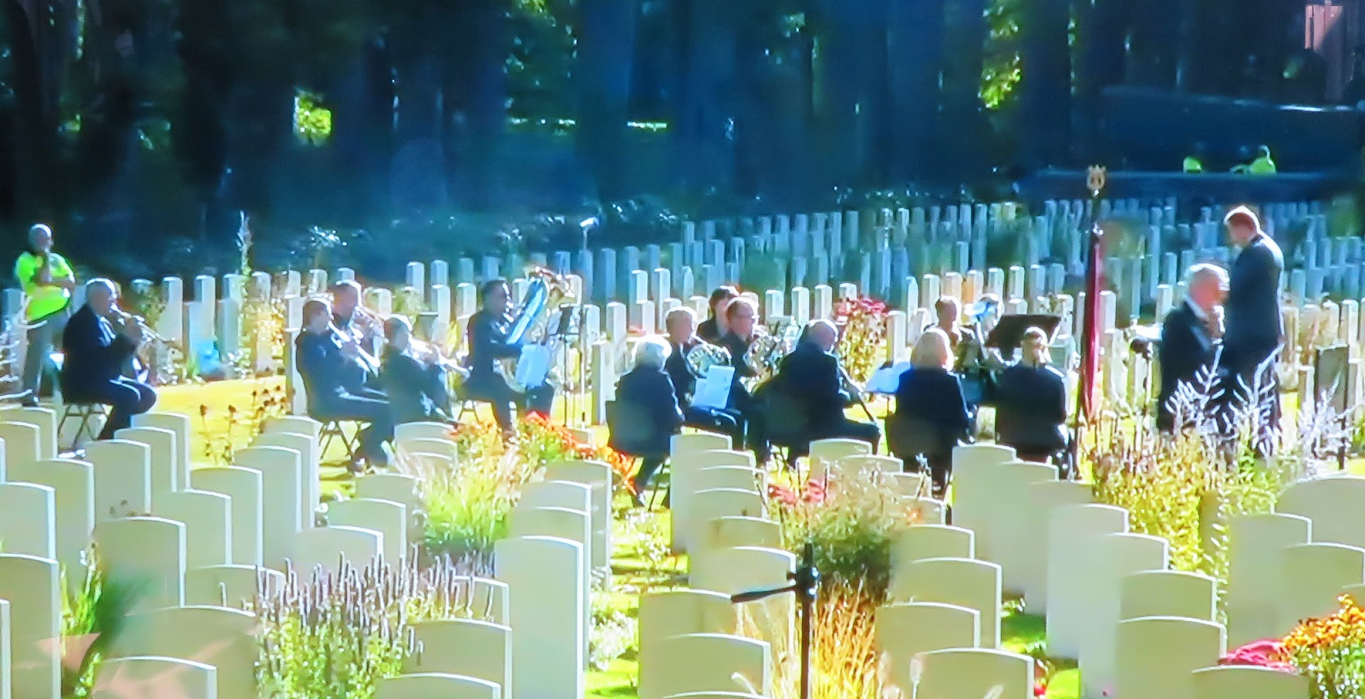 Airborne Herdenking 2020 - 15 spelers Koninklijke Harmonie Oosterbeek