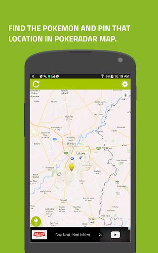 玩免費遊戲APP|下載Go Radar-Maps for Pokémon Go app不用錢|硬是要APP