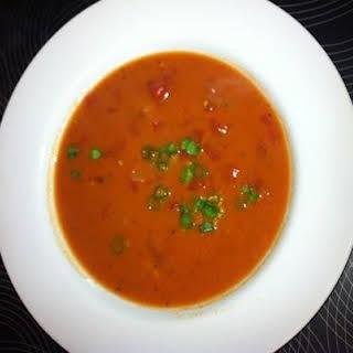 Classic Homemade Tomato Soup.