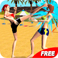 Volleyball Beach Girl Fight icon