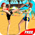 Volleyball Beach Girl Fight Apk