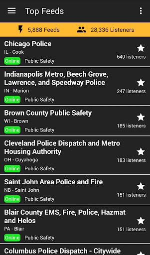 Marion police scanner app