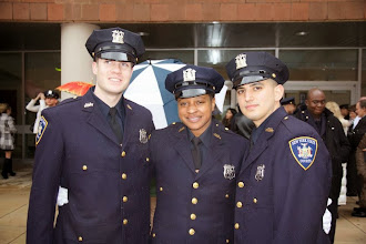 Photo: My cousin Nichole (in center) graduates from Police Academy