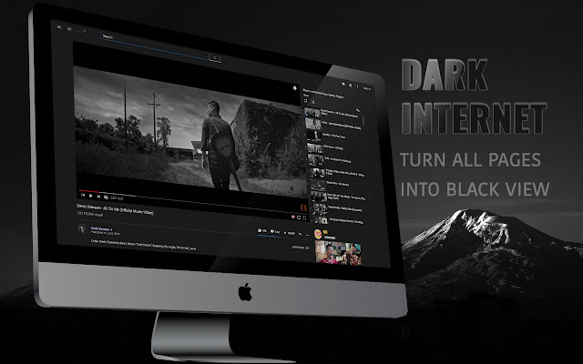Dark Web - Dark Theme for Chrome