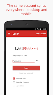 LastPass Password Manager- screenshot thumbnail