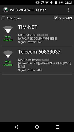WPS WPA WiFi Tester (No Root) 18.0 screenshots 1