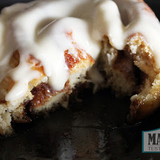 Vegan Cinnamon Rolls with Cream Cheese Icing