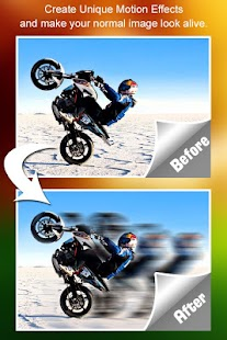 Motion Blur Photo Effect - náhled