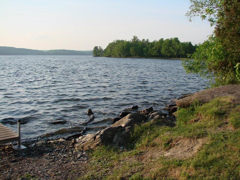 Photo: Lakeside at Lake Carmi State Park by Sara Hayes