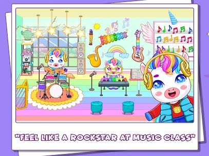Mini Town: Unicorn School Mod Apk (Full Unlocked + No Ads) 4