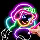 Learn To Draw Glow Princess (app)