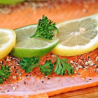 Smoked Salmon with Mango Salsa