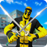 Dual Sword Pool Hero City Battle Mad Gangster Game