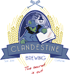 Logo for Clandestine Brewing