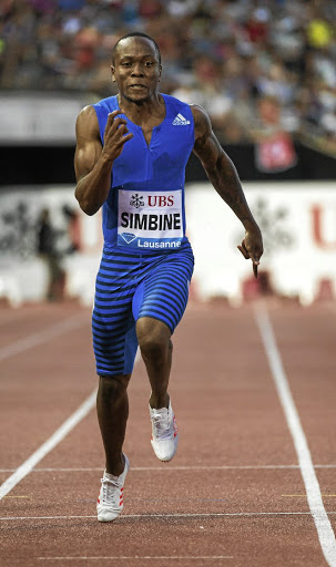 Akani Simbine. Picture: ROBERT HRADIL/ GALLO IMAGES