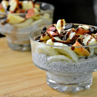 Chia Seeds Yogurt Pudding.