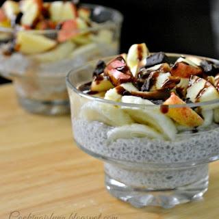 Chia Seeds Yogurt Pudding.