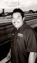 Photo: Alvin Takushi, happy the man after the Takushi Motorsports digger that he drives ran some nice 7.60 passes...