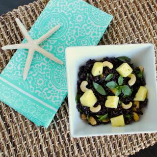 Thai-Style Pineapple Black Rice