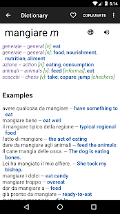 Italian English Dictionary- screenshot thumbnail