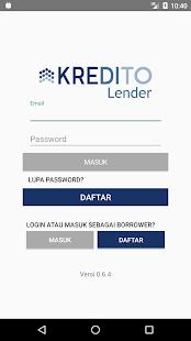 Kredito for Lenders 1