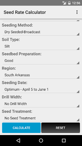 android Rice Advisor Screenshot 1