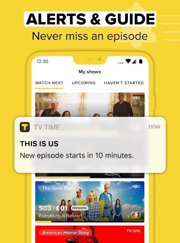 TV Time - #1 Show Tracker screenshots