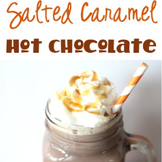Crockpot Salted Caramel Hot Chocolate Recipe!
