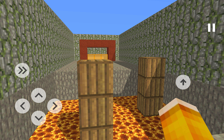 Blocky Parkour 3D Android App Screenshot