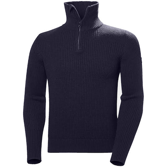 Helly Hansen Marka Wool Sweater Dark Blue Stl M