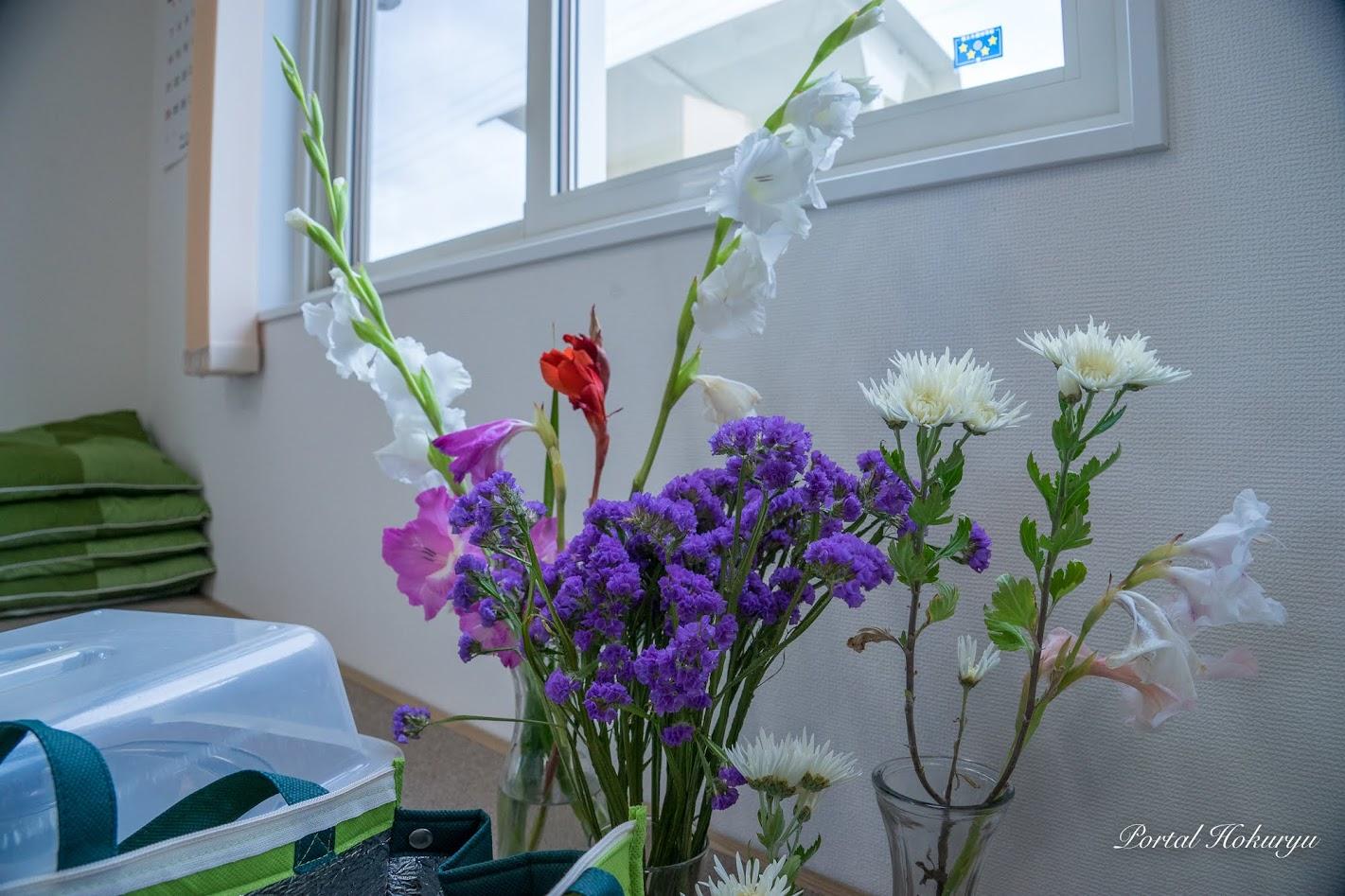 部屋を飾る生花